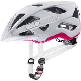 UVEX City Active Casque, papyrus/neon pink matt